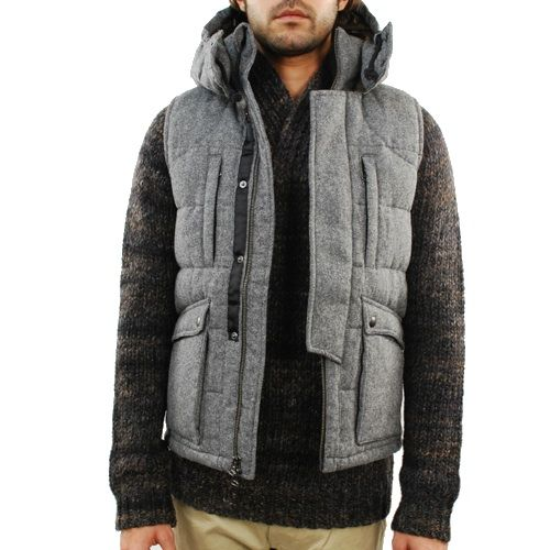 Wings + Horns Wool Down Vest    From: http://fashionstealer.com/wings-horns-roden-gray-sale/