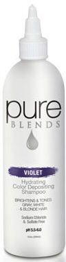 Pure Blends Shampoo - Violet Color Depositing Shampoo.the secret to maintaining plum hair color