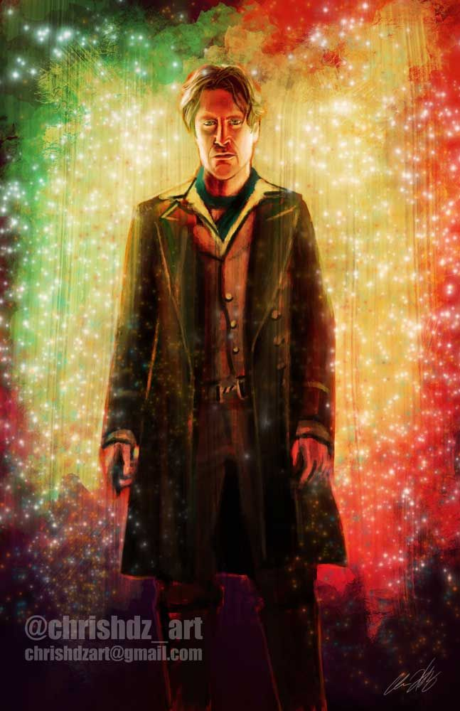 The Doctor- Paul McGann (8th Doctor) by ChrisHdzArt.deviantart.com on @DeviantArt