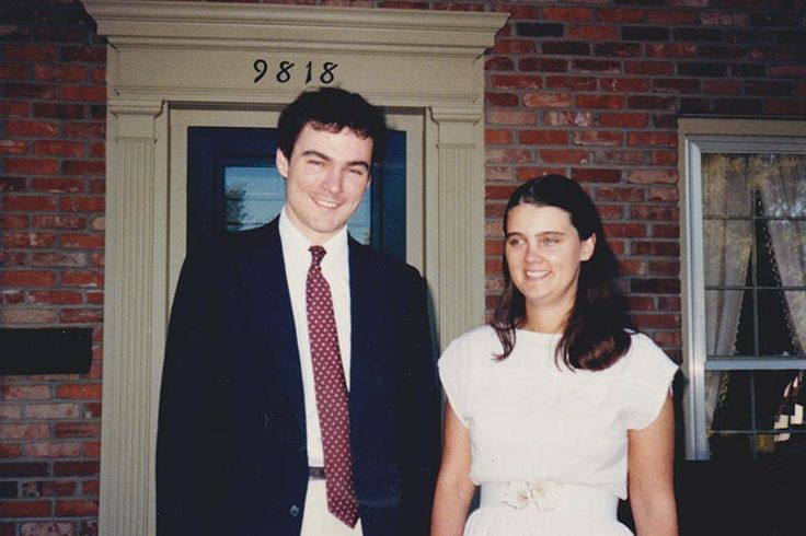 Tim Kaine and his wife Anne in 1981.