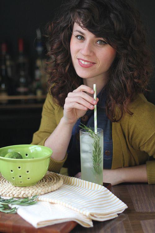 behind the bar: elizabeth morrow's rosemary gin rickey