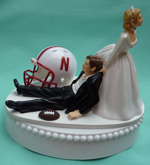 football wedding cake topper 79 best images about all things huskers on 14401