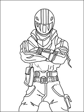 Fortnite Coloring Pages For Kids Free Printable Fortnite