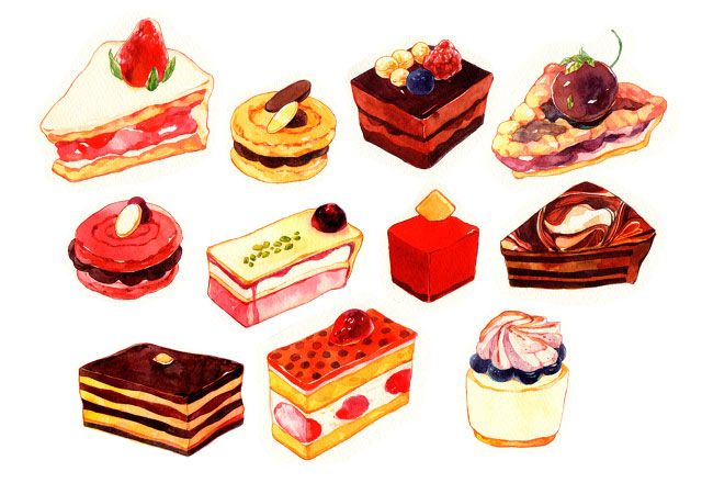 35 Delicious Food Illustrations