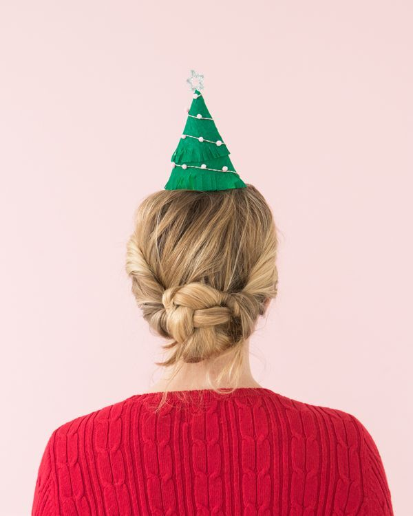 Christmas Tree Party Hats   Oh Happy Day!