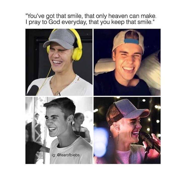 Justin is so happy rn if someone breaks that Beliebers will brake his/her face all we want to see is our angel to be happy