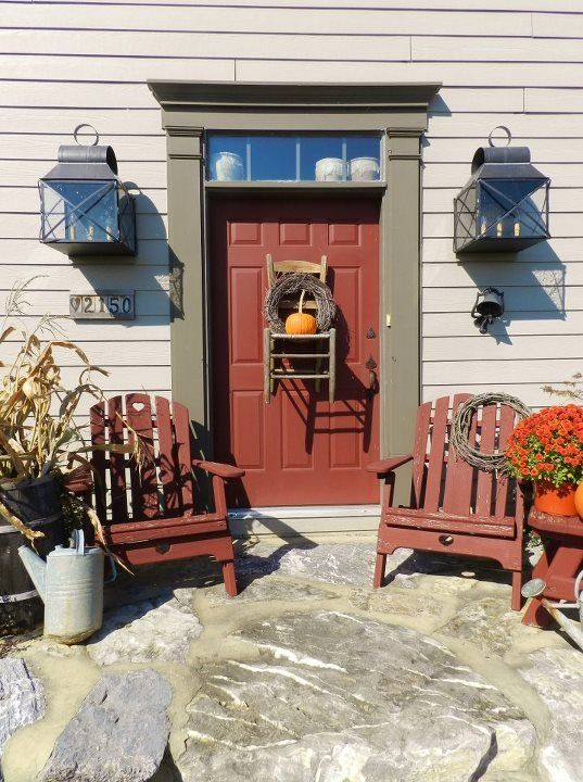 Photographed in the fall of 2011 in Slatington, PA. Wonderful home of a delightful family!