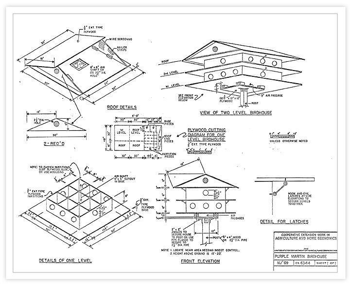 Martin Bird House Plans Free Purple Martin House Plans For You To Build We Also Offer Free Purp Purple Martin House Plans Purple Martin House Martin Bird House