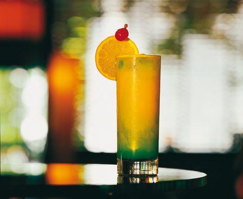 Eierlikör Rezept: Cocktails mit Likör für die Mädels-Party ''Verpoorten-Green'' - Cocktail-Rezepte - VERPOORTEN