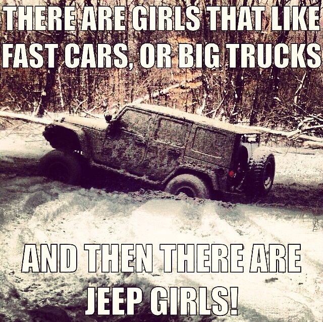 And then... There are Jeep girls!