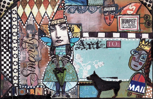 Collage mail art
