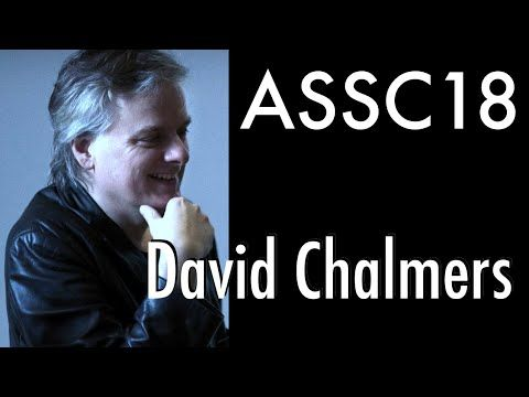 David Chalmers at ASSC18: Panpsychism Workshop (July 2014) - YouTube