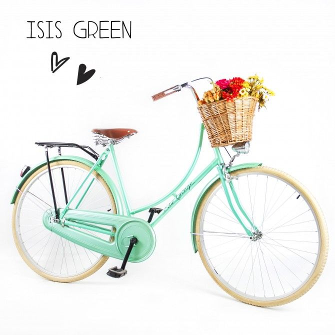Bicicleta Echo Vintage Retrô Ísis Green - Feminina <3