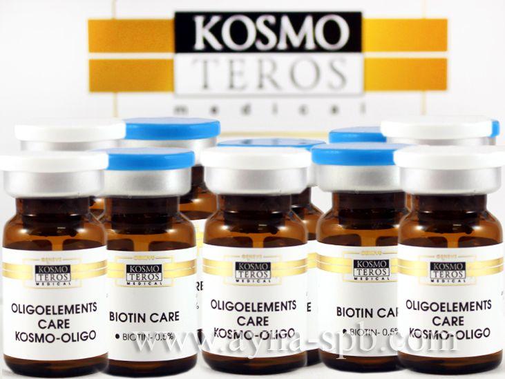 Комплекс мезококтейлей Космотерос для лечения волос