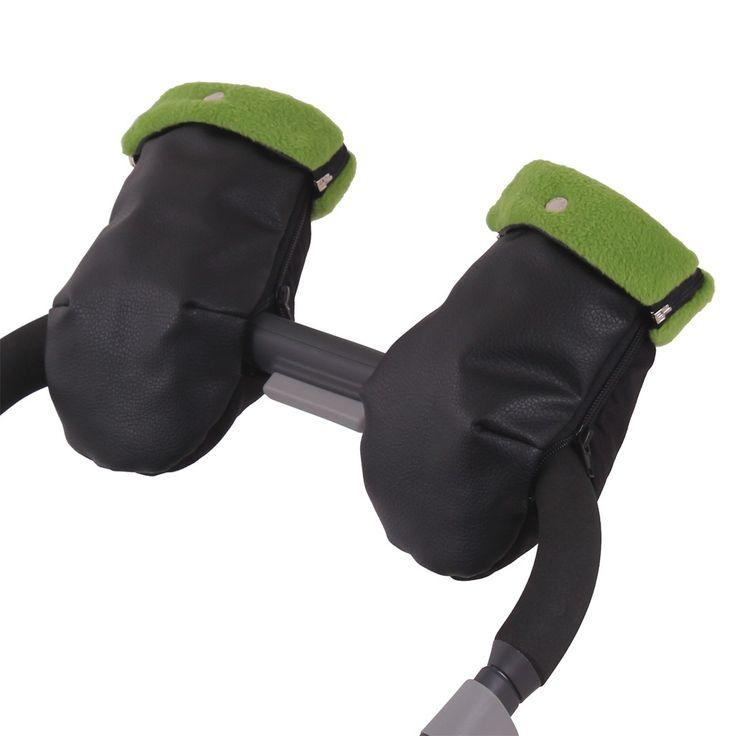 Manoplas Silla Paseo NAPA NE.Polar Verde.Compatibles con todas las sillas de paseo.