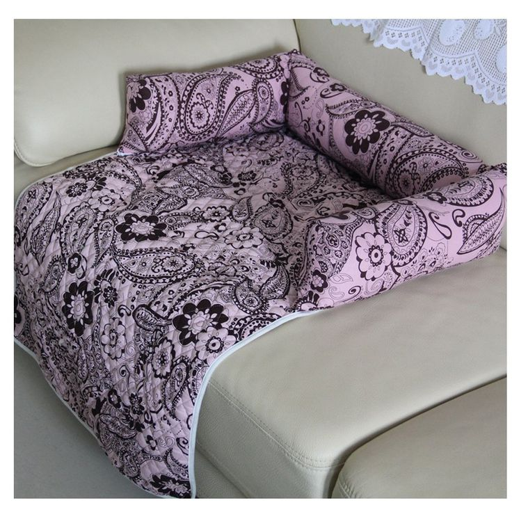 Saymequeen Flower Print Pet Mattress Dog Sofa Bed Cat Puppy Car Seat Cover ** You can get more details by clicking on the image. (This is an affiliate link and I receive a commission for the sales)