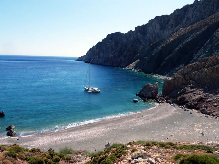 Tholos Beach, Tilos Island, Dodecanese, Greece. - Selected by www.oiamansion.com