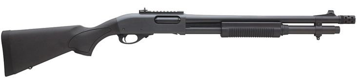 My second choice for shotguns would be an 870, and it would most certainly have an extended magazine tube. If at all possible, it would have a Vang choke job done to it, so I'd have tight and consistent buckshot patterns out to a useful distance.