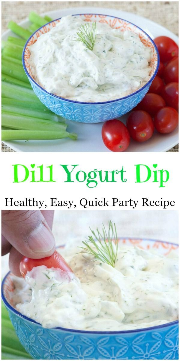 Perfect dip recipe for a party. Goes great with vegetables or chips.