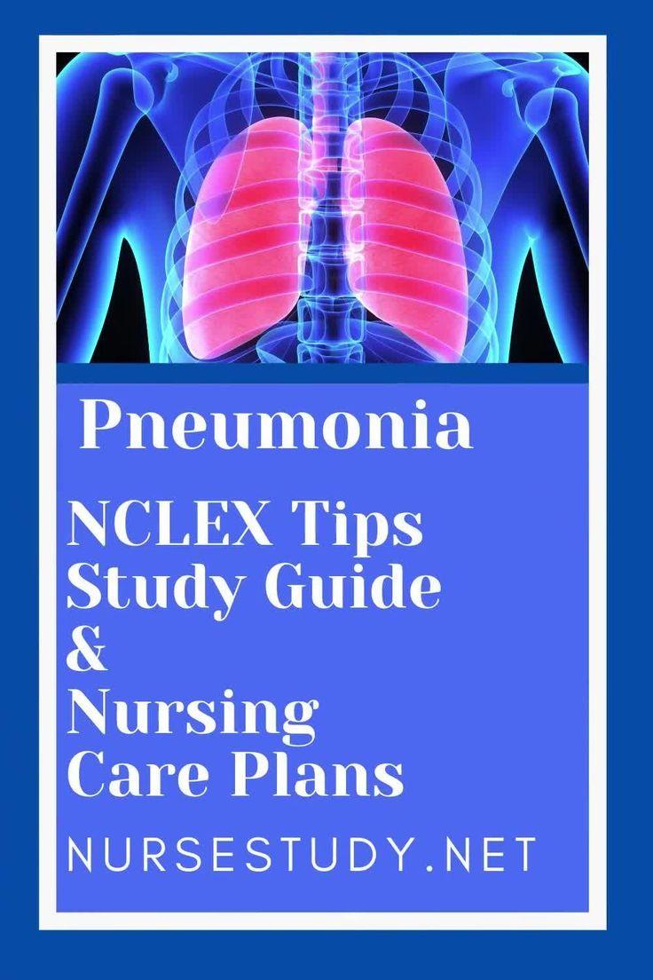 Pneumonia Nursing Study Notes & Nursing Care Plans [Video ...