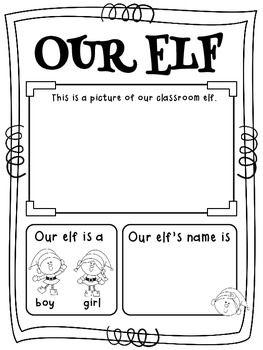 ELFIS Is In The Building  {A Classroom Elf Freebie}