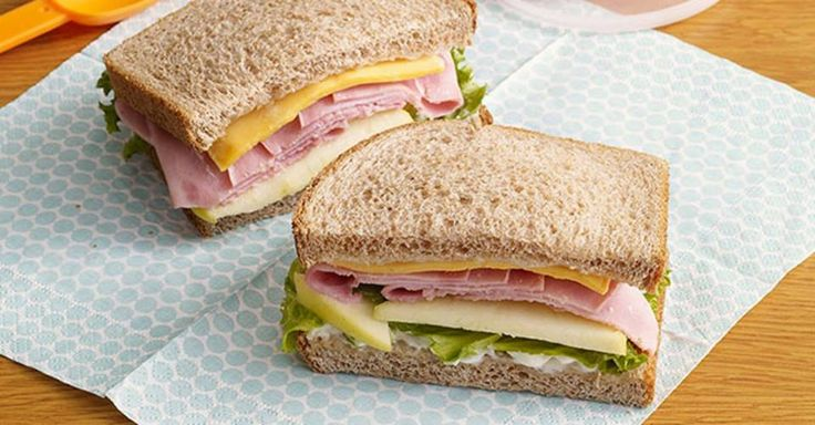 The most popular #sandwich in the country remains the ham sandwich, and for good reason! For #NationalSandwichMonth, treat yourself to a countrified version with a #delicious Ham & Apple #recipe from Kraft Foods.  #bread #organic #healthy #natural #family #bakery #school #delicious #toast #sandwich #food #health #recipe #recipes #cooking #Cincinnati #local #giving #dinner #lunch #foodie