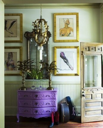 purple dresser great foyer by jum jumDecor, The Doors, Inspiration, Shades Of Purple, Painting Furniture, Purple Dressers, Painting Colors, Painting Dressers, Entryway