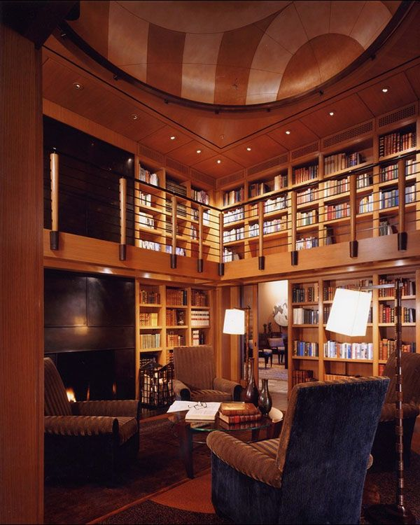 Beautiful Home Library Design Ideas
