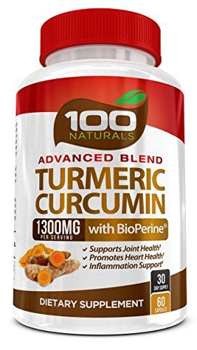 100% Natural Turmeric Curcumin 1300mg Supplement with Bioperine® -With 95% Standardized Curcuminoids- Gluten Free, None GMO, Maximum Strength Turmeric Pills with Black Pepper. Made in USA (60capsules) //Price: $ & FREE Shipping // #healthbenefits #lifestyle #healthy #energy #healthypeople   #relax #nocancer #firstaid #womenhealth #menhealth
