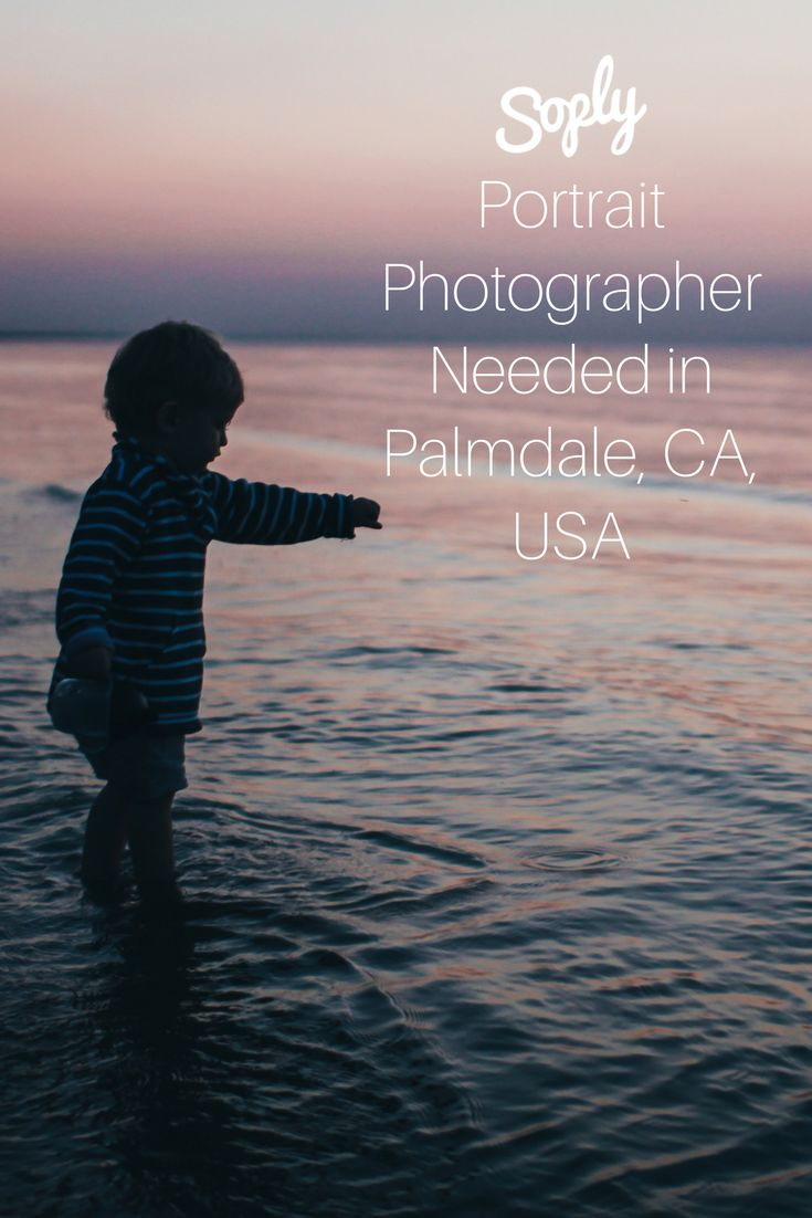 #Portrait #photographer needed for a #child #model in Palmdale, California, USA. See the #photography job and apply by clicking the pin!