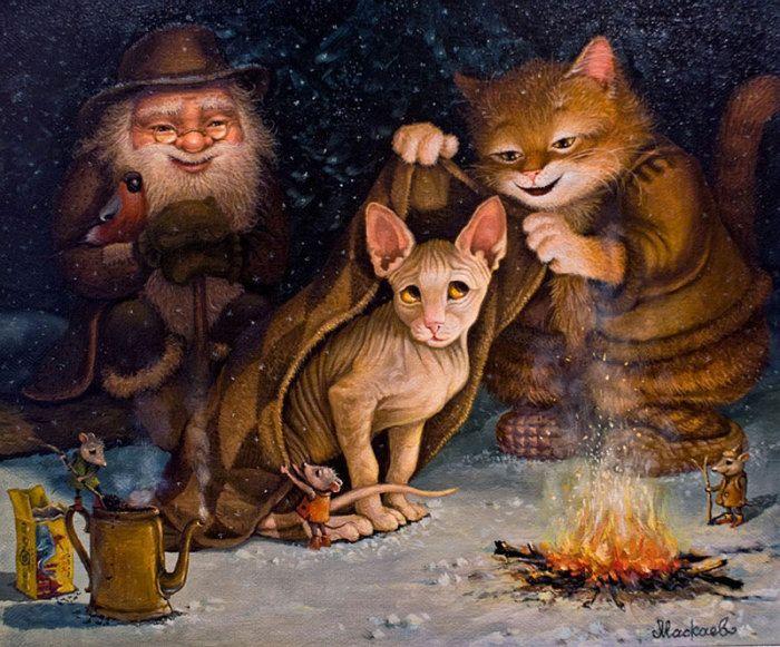 Приключение волшебного кота