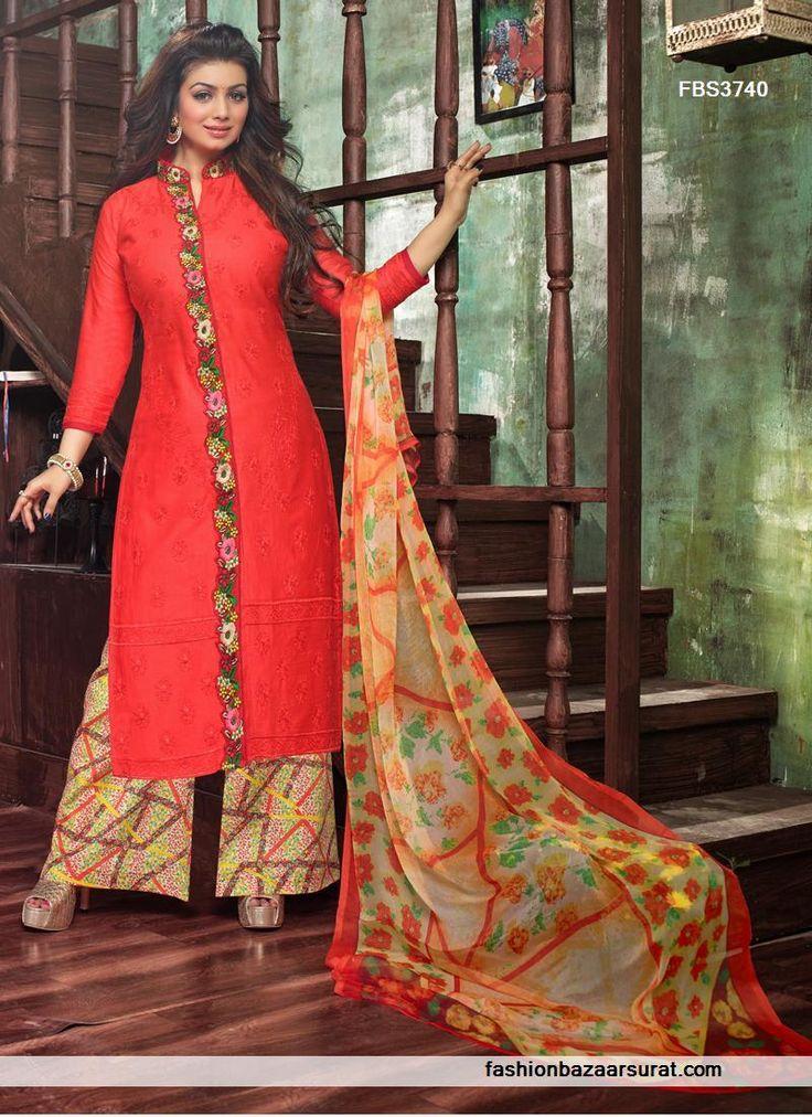Ayesha Takia Red Aspiring Designer Salwar Suit