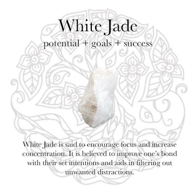 White Jade Gemstone