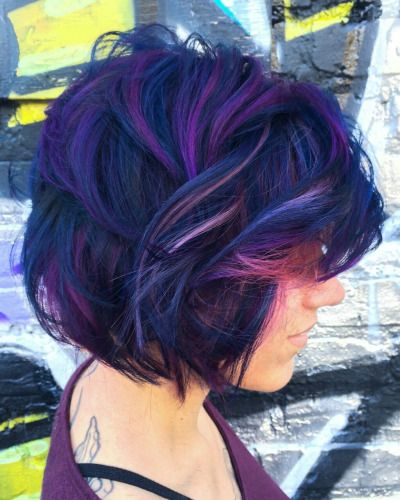 i love purple hair, but it's been done over and over now. this is still purple, but with funk! twilight sparkle hair!