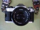 Canon AE-1 35mm SLR Manual Focus Camera w/ FD 50mm lens - Canon AE-1 35mm SLR Manual Focus Camera w/ FD 50mm lens    Manual Focus CameraLens Mount-Canon FDCamera Type-SLR (Single Lens Reflex) Shutter Speed-2 - 1/1000 sec  AE-1 35mm SLR Manual Focus C
