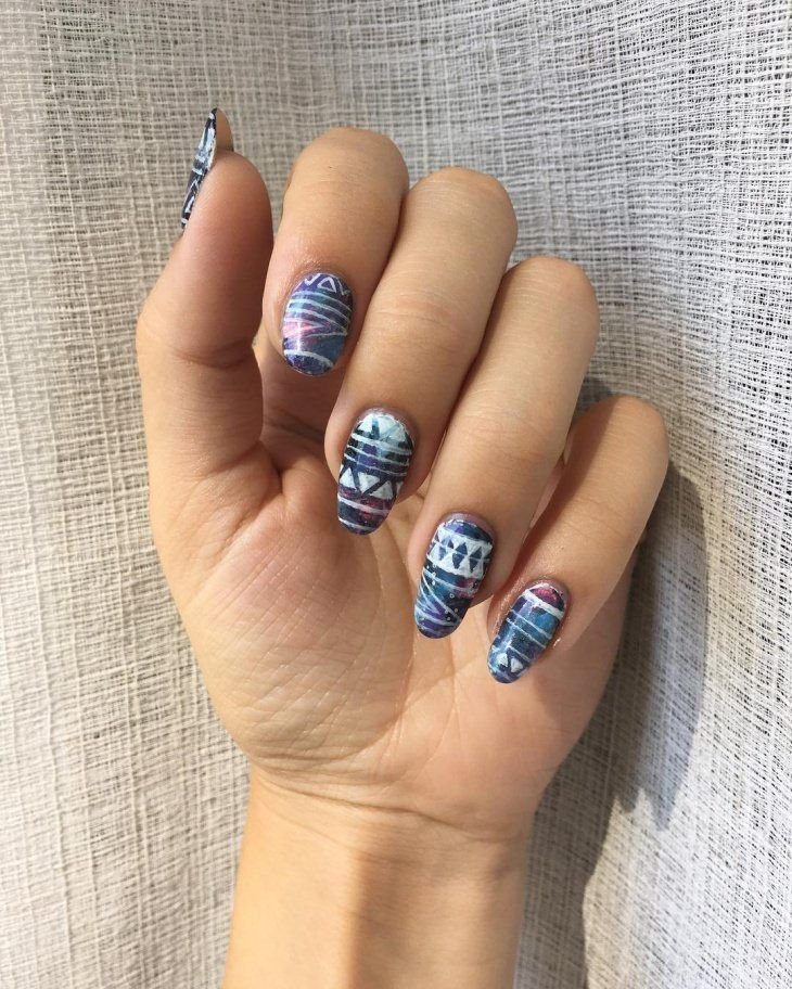 top galaxy nail art designs 2017 - style you 7