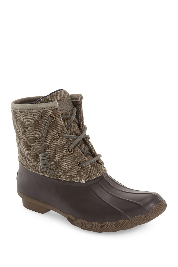 Saltwater Quilted Duck Boot by Sperry on @nordstrom_rack