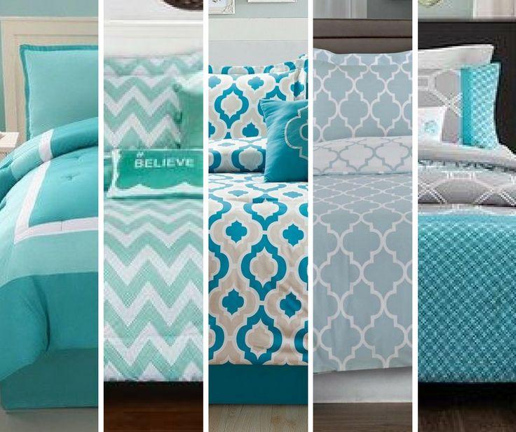 teal blue green turquoise aqua ocean marine bed linen bedding set bedspread doona comforter sheets sleep comfortable goodnight