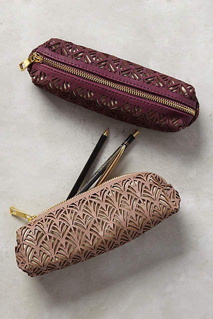 Lasercut Pencil Pouch - anthropologie.com