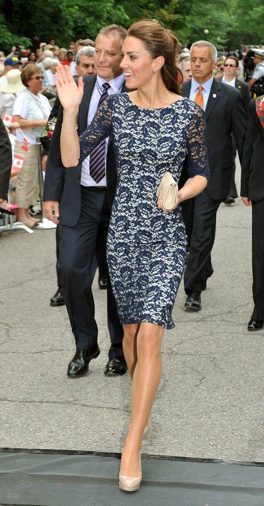 Kate Middleton Wearing Blue | POPSUGAR Fashion Photo 30