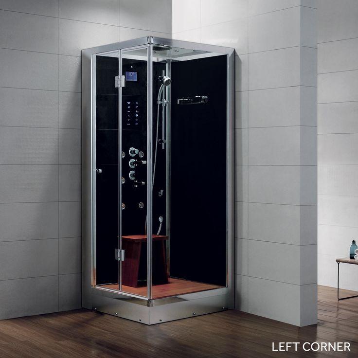 36 X Arley Corner Steam Shower Enclosure