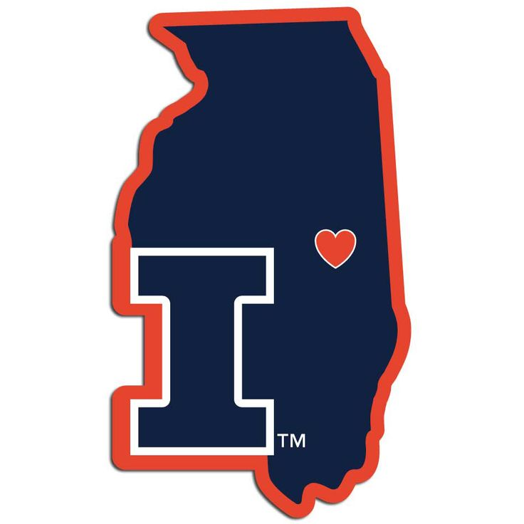 BiggSports - Illinois Fighting Illini Decal Home State Pride Style, $6.99 (http://www.biggsports.com/illinois-fighting-illini-decal-home-state-pride-style/)
