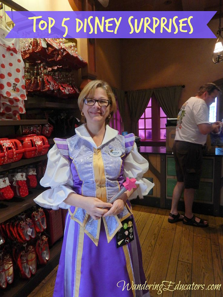 Top 5 Disney Surprises - do you know these? It makes Disney World that much more fun.