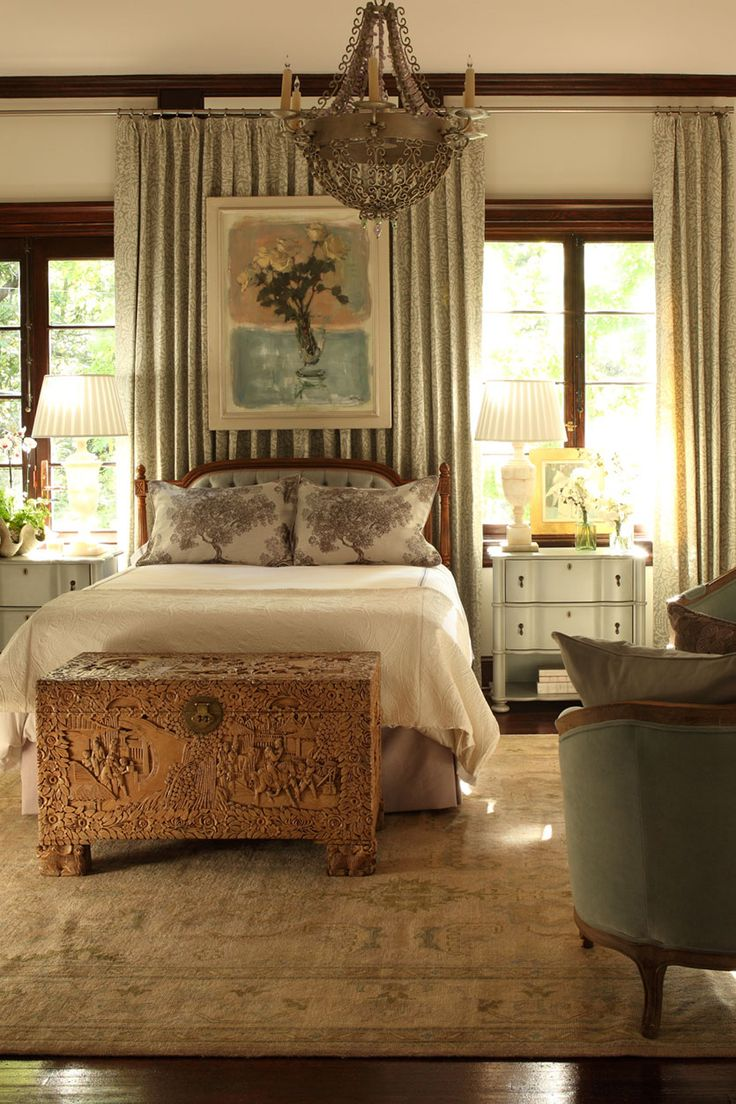 Tish Mills' room in the Atlanta Symphony Showhouse