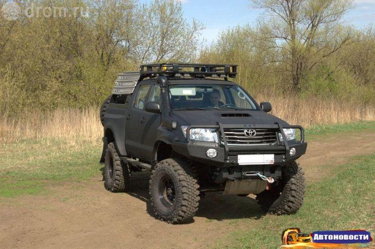 Тюнинг пикапа Toyota Hilux. Великое превращение - «Автоновости»