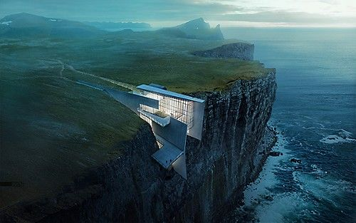 My inspiration - Cliff Retreat by Alex Hogrefe.