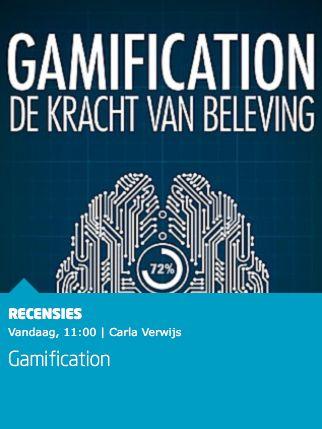 """Mooie recensie van het boek 'Gamification' van Horst Streck bij Managementboek: """"Door het boek Gamification van Horst Streck heb ik een veel beter beeld gekregen. In spelen liggen kansen, voor het onderwijs, overheid en bedrijfsleven. Kansen die nu nog te weinig worden benut. Als het aan Streck ligt komt daar snel verandering in."""" #gamification #horststreck #mgtboeknl #futurouitgevers"""