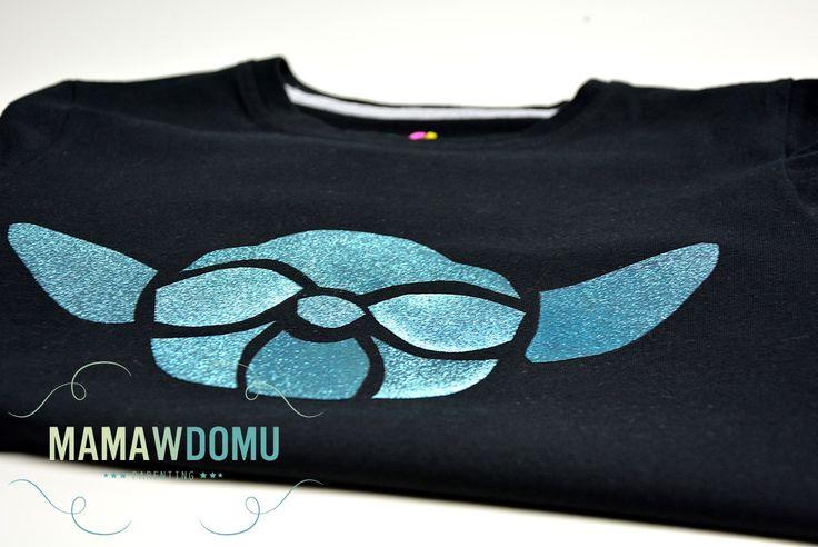 DIY koszulka star wars how to make  Yoda T-shirt