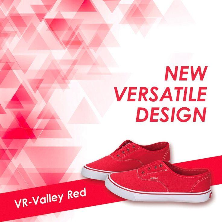 Cari sneakers keren untuk malam mingguan? Pilih VR-VALLEY saja. Pakainya nggak ribet dan yang pasti desainnya keren. Bahannya canvas sehingga membuat kakimu tidak lembab. Pingin, kan? Beli aja di www.ardilessneakers.com!