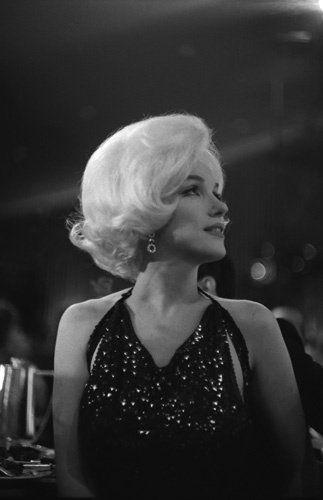 Marilyn Monroe at The Golden Globe Awards
